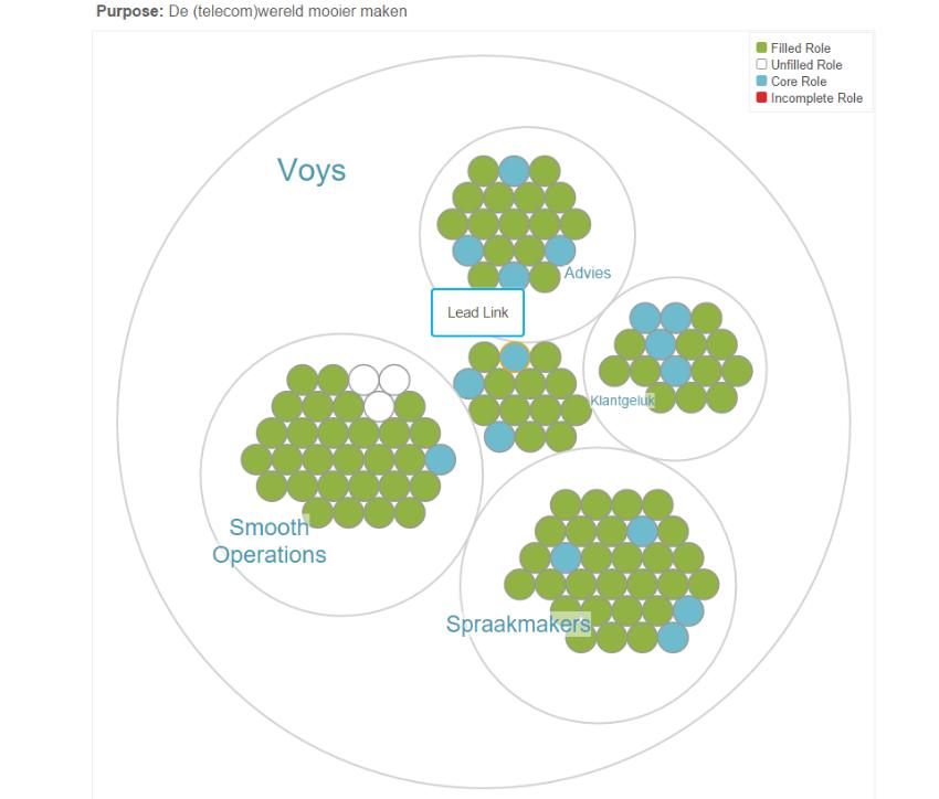 cirkelstructuur Voys
